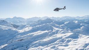 Helicoptère-Val Thorens, Les Trois Vallées-Vol panoramique privé en hélicoptère dans les Alpes depuis Val Thorens-2