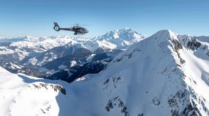 Helicoptère-Val Thorens, Les Trois Vallées-Vol panoramique privé en hélicoptère dans les Alpes depuis Val Thorens-4