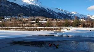 Snow Experiences-Val Cenis, Haute Maurienne-Ice Floating in Val Cenis, French Alps-3