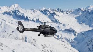 Helicoptère-Val Thorens, Les Trois Vallées-Vol panoramique privé en hélicoptère dans les Alpes depuis Val Thorens-1