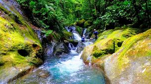 Canyoning-La Soufrière-Canyon de Ravine Chaude en Guadeloupe-1