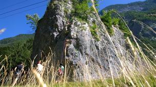 Klettern-Bovec-Rock climbing session near Bovec-2