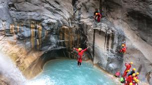 Canyoning-Cirque de Cilaos-Canyon du Bras Rouge à La Reunion-3