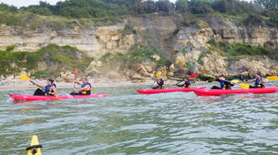 Sea Kayaking-Normandy-Sea kayaking excursions to the cliffs of Normandy-1