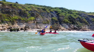 Sea Kayaking-Normandy-Sea kayaking excursions to the cliffs of Normandy-2