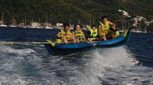 Wakeboard-Les Anses-d'Arlet-Bouée Tractée à Anse d'Arlet, Martinique-3