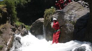 Canyoning-Rivière Langevin, Saint-Joseph-Canyoning sur la Rivière Langevin à La Réunion-4