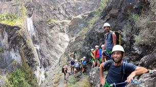 Canyoning-Cirque de Cilaos-Canyon de Fleur Jaune à La Reunion-8
