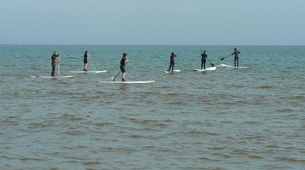 Stand Up Paddle-Omaha Beach-Randonnée en Stand Up Paddle sur Omaha Beach, Normandie-1
