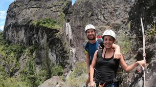 Canyoning-Cirque de Cilaos-Canyon de Fleur Jaune à La Reunion-1