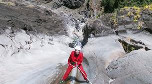 Canyoning-Cirque de Cilaos-Canyon de Fleur Jaune à La Reunion-2