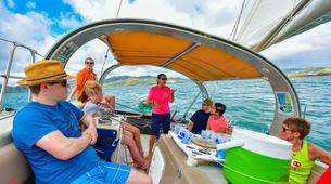 Voile-La Trinité-Journée voile aux îlets du Robert en Martinique-4
