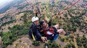 Parapente-Marrakech-Tandem paragliding over the Kik Plateau, Morocco-3