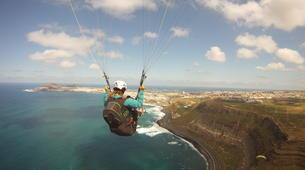Paragliding-Gran Canaria-Tandem paragliding in Playa de las Canteras, Gran Canaria-4