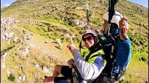 Parapente-Marrakech-Tandem paragliding over the Kik Plateau, Morocco-4