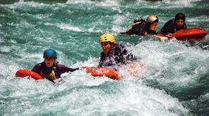 Hydrospeed-Queenstown-Sledging excursion on Kawarau River-4