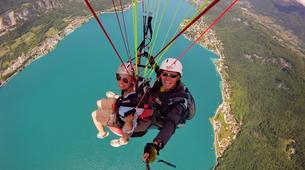 Parapente-Annecy-Paragliding tandem flight above Annecy lake-5