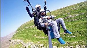 Parapente-Marrakech-Tandem paragliding over the Kik Plateau, Morocco-5