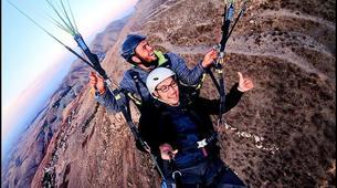 Parapente-Marrakech-Tandem paragliding over the Kik Plateau, Morocco-1