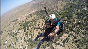 Parapente-Marrakech-Tandem paragliding over the Kik Plateau, Morocco-2