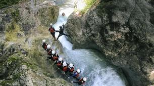Canyoning-Interlaken-Canyoning in the Saxeten Gorge in Interlaken-1