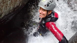Canyoning-Ossau valley-Full day canyoning down the canyon of Canceigt and Bious in Ossau Valley-3