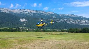 Helicopter tours-Annecy-Scenic helicopter flight above Annecy's Lake-1