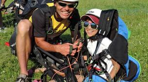 Parapente-Annecy-Paragliding tandem flight above Annecy lake-4