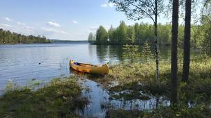 Kayak-Rovaniemi-Canoeing through the Wilderness in Lapland, Finland-3