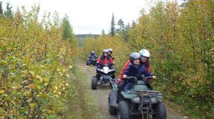 Quad biking-Kiruna-Wilderness Quad biking Tours in Swedish Lapland near Kiruna, Sweden-3