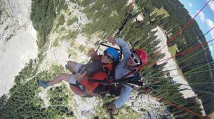Paragliding-Morzine, Portes du Soleil-Tandem paragliding flight in Morzine - Avoriaz-1