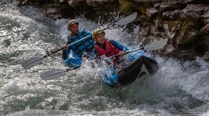 Kayak-Verdon Gorge-Half day sporty whitewater activity in the Verdon Gorge-1