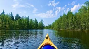 Kayak-Rovaniemi-Canoeing through the Wilderness in Lapland, Finland-2