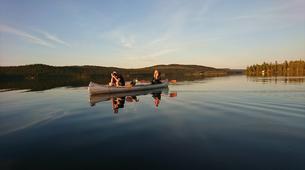 Kayaking-Kiruna-Canoe Day Tour in Swedish Lapland near Kiruna-1