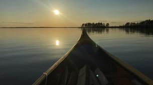Kayak-Rovaniemi-Canoeing under the Midnight Sun near Rovaniemi, Finland-2