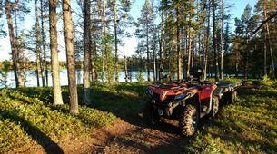 Quad biking-Kiruna-Wilderness Quad biking Tours in Swedish Lapland near Kiruna, Sweden-2