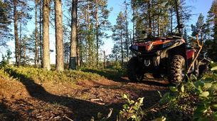 Quad biking-Kiruna-Wilderness Quad biking Tours in Swedish Lapland near Kiruna, Sweden-1