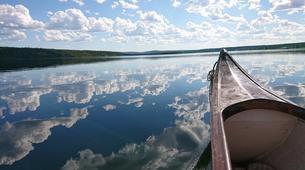 Kayaking-Kiruna-Canoe Day Tour in Swedish Lapland near Kiruna-5