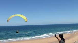 Parapente-Burgau-Tandem paragliding in Praia do Burgau, in Vila do Bispo-1