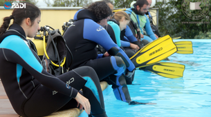 Scuba Diving-São Miguel-SSI / PADI Open Water Diver course from Vila Franca do Campo, Sao Miguel Island-1