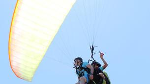 Parapente-Burgau-Tandem paragliding in Praia do Burgau, in Vila do Bispo-2