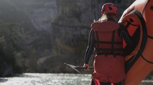 Rafting-Verdon Gorge-Sporty Packraft excursion down the Imbut, Verdon Gorge-2