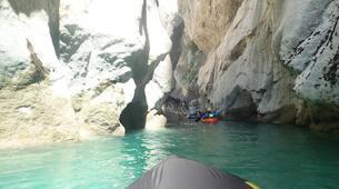 Rafting-Verdon Gorge-Sporty Packraft excursion down the Imbut, Verdon Gorge-3