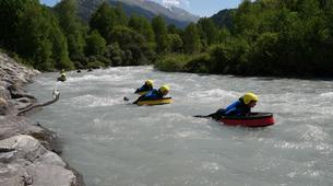 Hidrospeed-Val Cenis, Haute Maurienne-Hydrospeed down the whitewater of Val Cenis-2