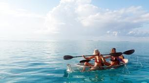Sea Kayaking-Moorea-Clear kayak tour in Moorea-2