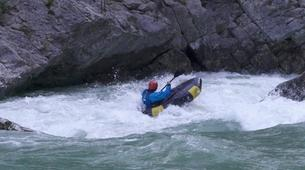 Rafting-Verdon Gorge-Sporty Packraft excursion down the Imbut, Verdon Gorge-1