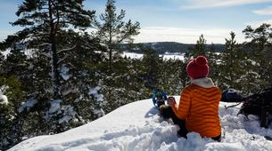 Raquette à Neige-Stockholm-Snowshoeing excursion in Stockholm-1
