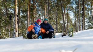Raquette à Neige-Stockholm-Snowshoeing excursion in Stockholm-2