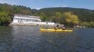 Kayak-Sofia-Kayaking in the Iskar Reservoir from Sofia-1