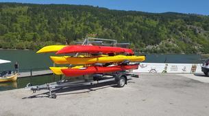 Kayak-Sofia-Kayaking in the Iskar Reservoir from Sofia-2
